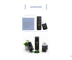 Sleek Wide Pump Design Airless Liquid Spray Bottle For Men