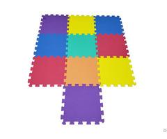 Odorless Interlocking Eva Plain Puzzle Foam Indoor Playground Mat