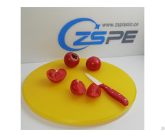 Anti Slip Food Grade Plastic Cutting Board For Kitchen