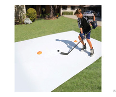 Durable Ecological Simulation Self Lubricating Roller Hockey Rink