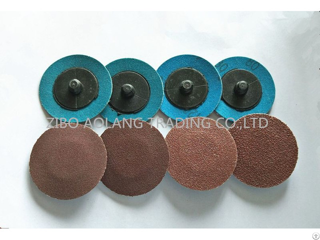Aluminum Oxide Quick Change Roloc Discs