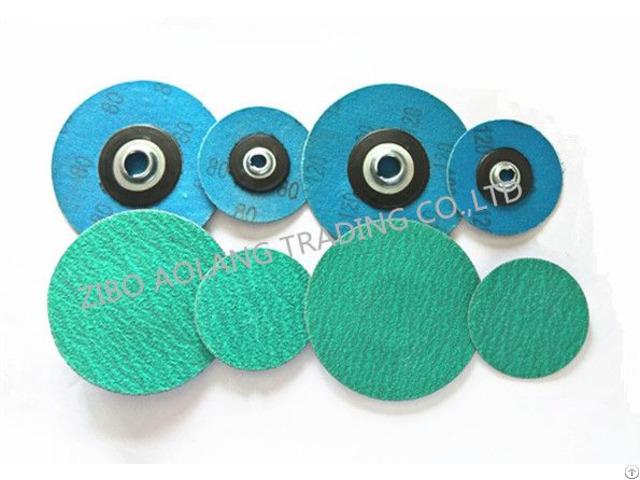Zirconia Quick Change Sanding Discs