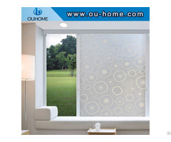 Bt8026 Sliver Color Stained Window Frosting Film
