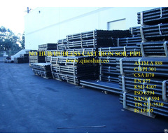 Ksd4307 Cast Iron Drainage Pipe With Plain Ends