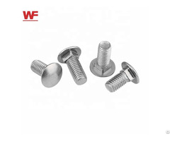 Hot Sales Round Head Square Neck Carriage Half Full Thread Bolt Din603