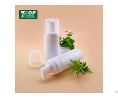 Empty Large Capacity Face Cleanser Mousse Foam Pump Bottle For Cosmetic Package