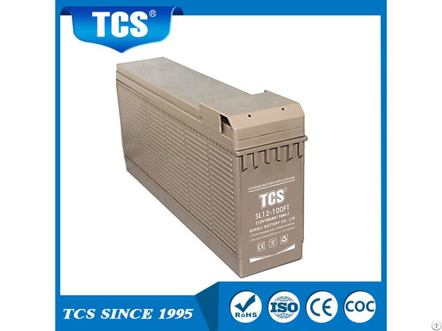 12v100ah Front Terminal Deep Cycle Battery