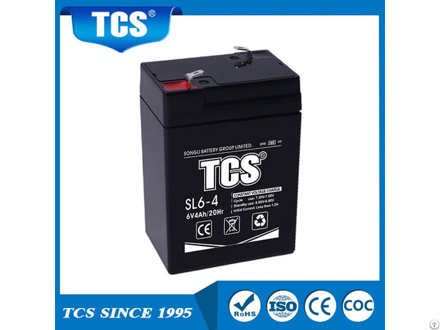 Tcs 6v4ah Small Size Storage Battery