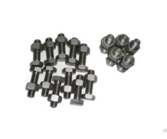 Astm A325 A490 Type 1 Heavy Hex Bolts