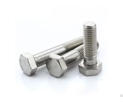 Din960 Fine Half Thread Hex Head Bolt