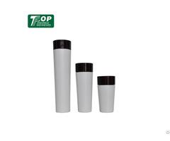 Simple Slim Plastic Packaging Light White Pp Cosmetic Bottle