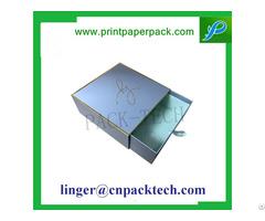 Bespoke Cardboard Coated Paper Drawer Gift Box