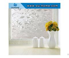 Bt16306 Emobssing Translucent Decorative Frosted Pvc Window Film