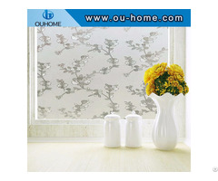 H16206 Glue Free Self Adhesive Window Film Static Protection Invisible Glass Sticker