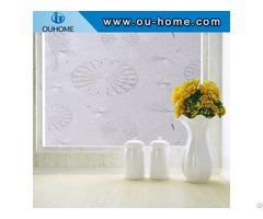 H16006 3d Static Decorative Glass Film Non Adhesive Heat Control Anti Uv