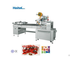 Ce Certificate Hard Candy Flow Packing Machine