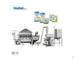 Baby Food Nutritional Powder Breakfast Cereal Making Machine Line