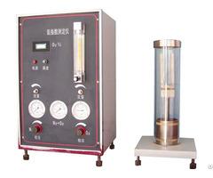 Critical Oxygen Index Test Apparatus