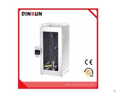 Qinsun Iso 6940 Fabric Textile Vertical Flammability Tester