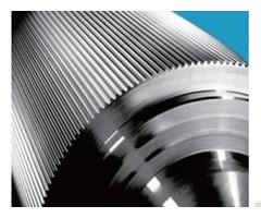 Hard Chrome Corrugated Roller