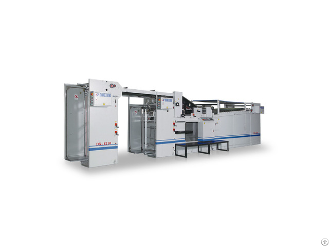 Dx 1207 1210 Automatic Sheet Cardboard Litho Laminator