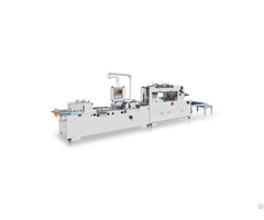 Ch 700 1100 Full Auto Corner Cutting And Creasing Window Patching Machine