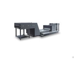 Sgj Ui1100 1300 Automatic Spot Coating Machine Uv And Water Based