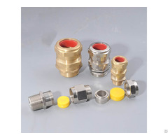 Ex Standard Brass Cable Gland Jx5 Series