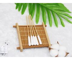 "6"" Bamboo Pets Care Sensitive Ear Sticks Cotton Applicator"