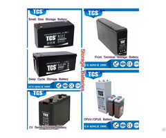 Tcs Storage Battery For Ups Telecom Solar System Industry