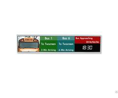 Bar Display Stretch Lcd