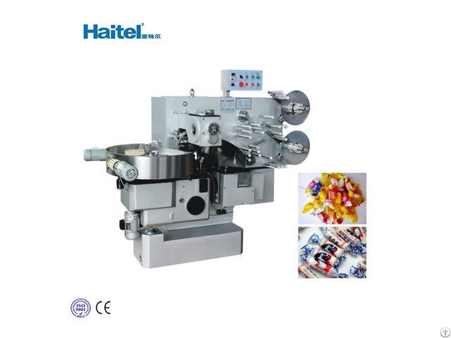 Factory Price Automatic Double Twist Sweet Candy Wrapping Packing Machine