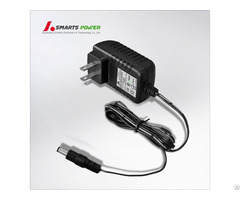 Ce Certified 12v 1a 12w With 5 5x2 1 Male Connector Dc Power Cord Switching Adapter