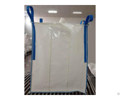 Sift Proof Seam Baffle 4 Panel Formstable Fibc 1ton Bag Pp Virgin