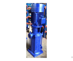 Dl Vertical Multistage Booster Pump With Low Speed 1480rpm