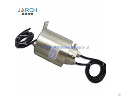 Explosion Proof Slip Ring Certified Conductive Rings Mine Working 360 Degree Rotating