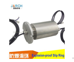 Electrical Flameproof Military Slipring Assembly Stainless Steel Explosion Proof Slip Ring