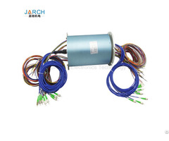 Electro Optical 36 Circuits Slip Ring 8 Channels Fiber Optic Rotary Joint Forjs