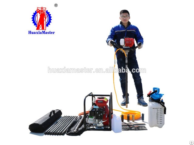 Backpack Portable Diamond Core Drill Rig Rock Drilling For Geological Exploration