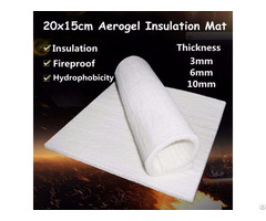 High Temperature Insulating Materials Flexible Aerogel Composite Blanket