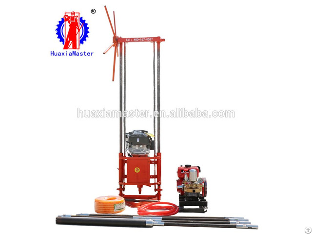 Qz 2b Gasoline Engine Sampling Drilling Rig