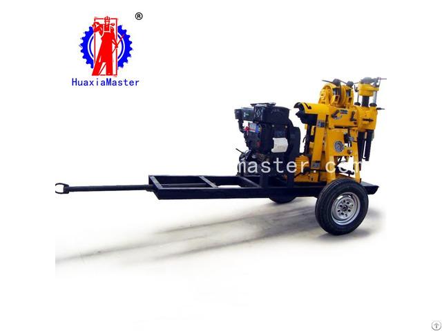 Xyx 130 Wheeled Hydraulic Core Drilling Rig