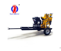 Xyx 130 Wheeled Hydraulic Core Drilling Rig