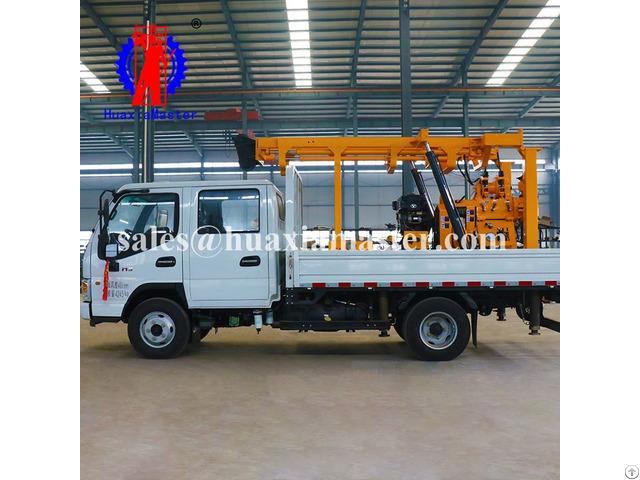 Xyc 200 Vehicle Mounted Hydraulic Core Drilling Rig