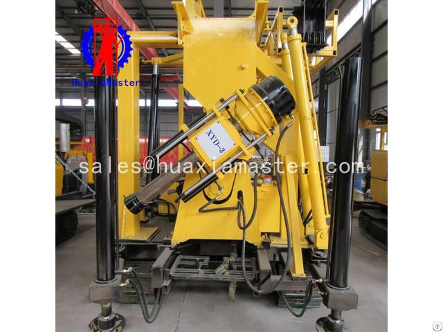 Xyd 3 Crawler Hydraulic Core Drilling Rig