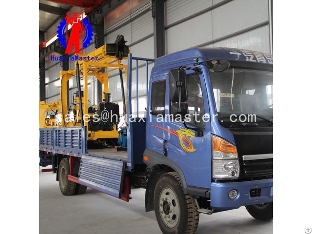 Xyc 3 Vehicle Mounted Hydraulic Core Drilling Rig