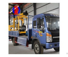 Xyc 3 Vehicle Mounted Hydraulic Core Drilling Rig