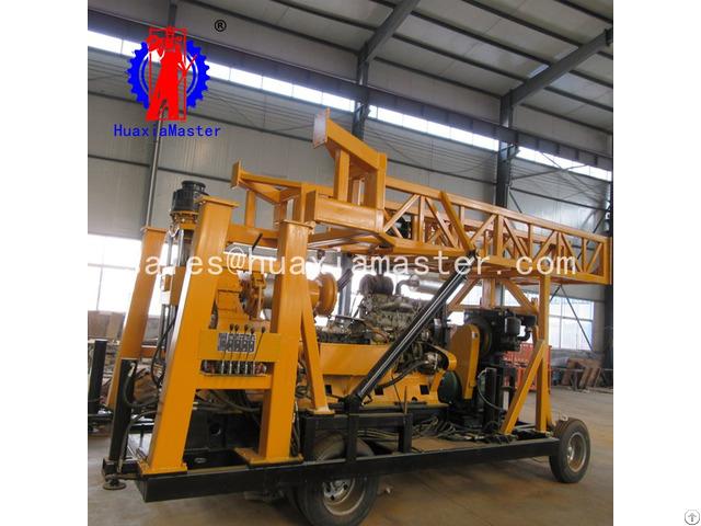 Xyx 44a Wheeled Hydraulic Core Drilling Rig