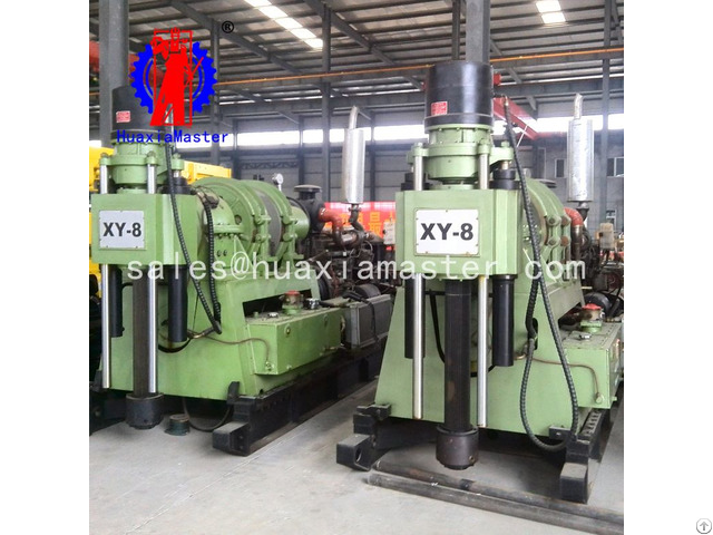 Xy 8 Hydraulic Core Drilling Rig
