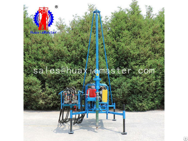 Sdz 30s Pneumatic Mountain Geophysical Drilling Rig